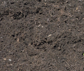 Dark Double-Shred Mulch from APLS, Inc. Landscape Supply