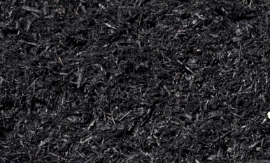 Dyed Black Mulch - APLS, Inc. Landscape Supply