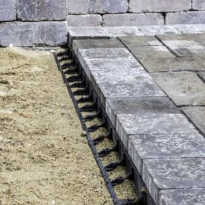 Snap Edge Paver Restraint
